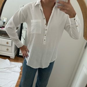 White Blouse Pilcro the Letterpress
